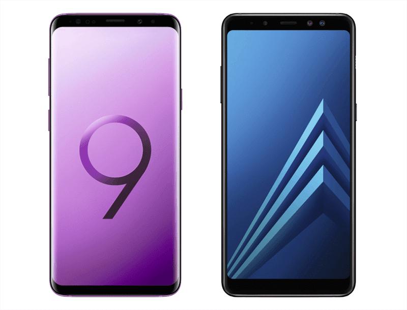 Samsung Galaxy A8 and Galaxy S9 Enterprise Edition announced