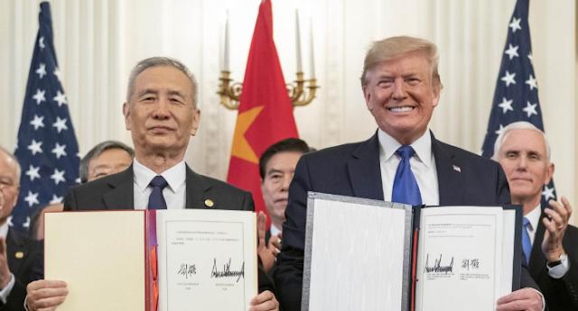 Ticaret savaşlarında barışın 'ilk aşaması'