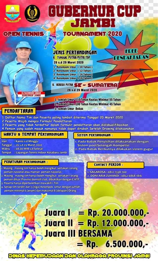 Gubernur Cup Jambi Open Tennis Tournament