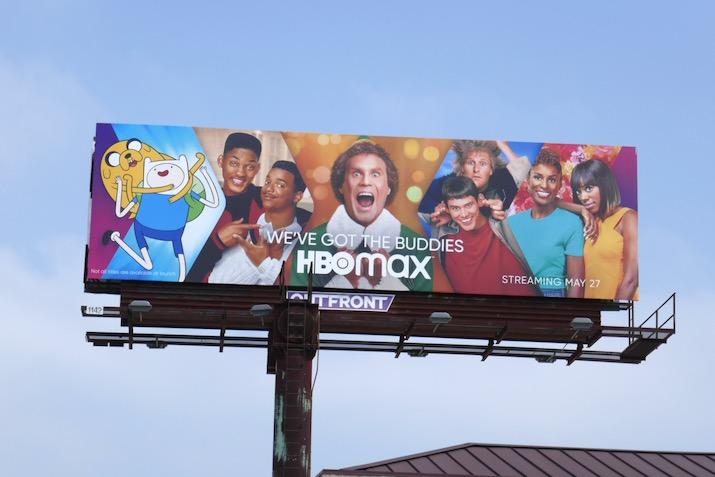 HBO Max Buddies billboard