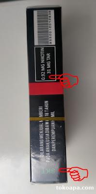 Berapa kandungan nikotin dan tar rokok Cigarskruie?