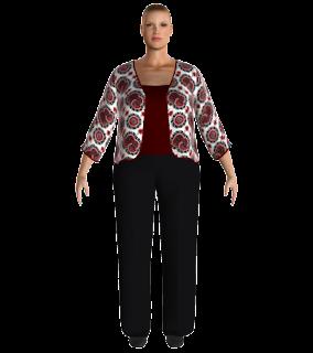 ropa en 3D