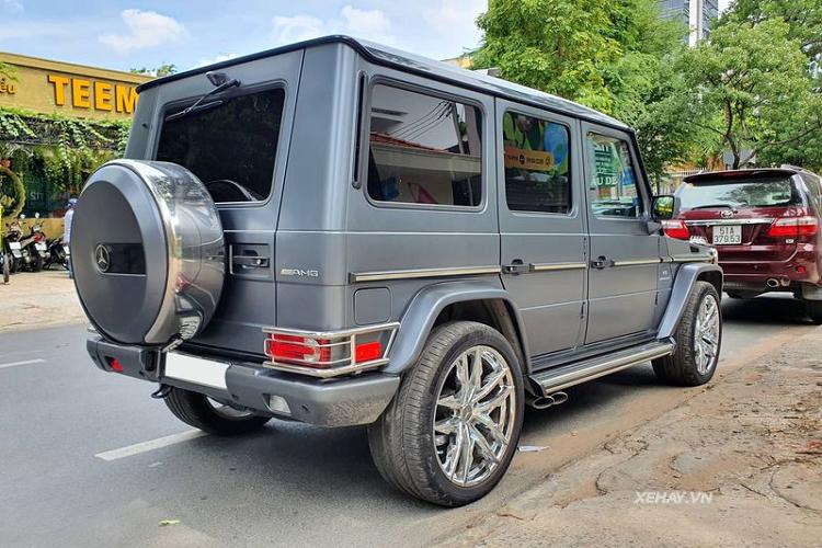 Chạm mặt Mercedes-AMG G55 'hàng hiếm', hơn 4 tỷ ở Sài Gòn