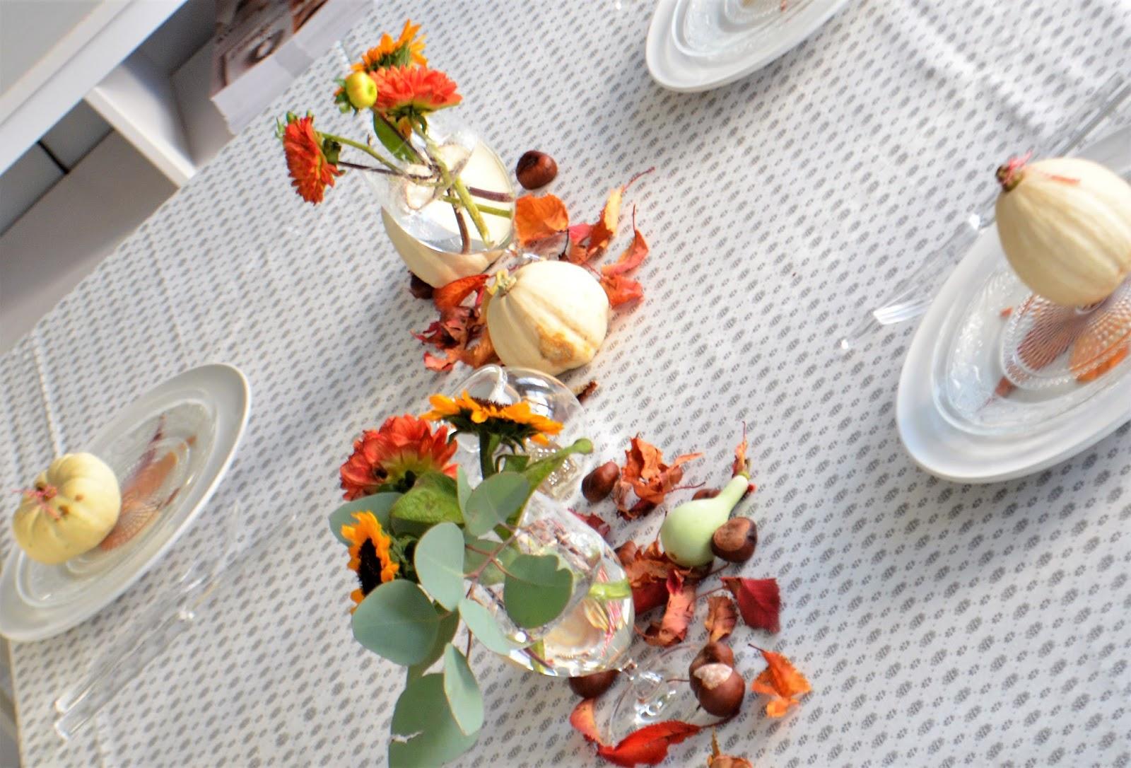 Herbstliche Tischdeko Und Ein Statement Zur Werbung Deko Hus
