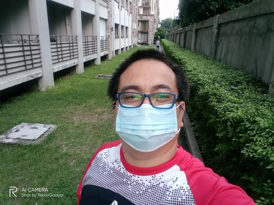 Realme C11 Camera Sample - Selfie with Mask