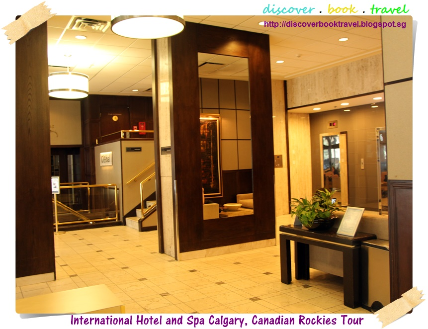 Hotel review international hotel and spa calgary for About u salon calgary