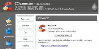 CCleaner Yeni Sürüm İndir