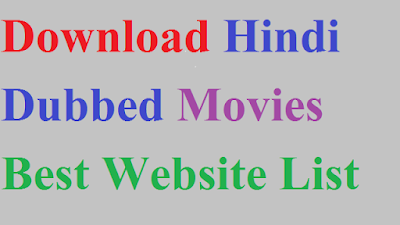 Hindi Dubbed Hollwood Movies Download