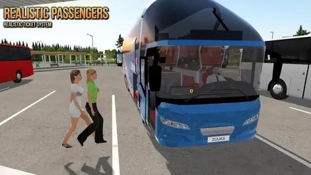 تحميل لعبة bus simulator مهكرة