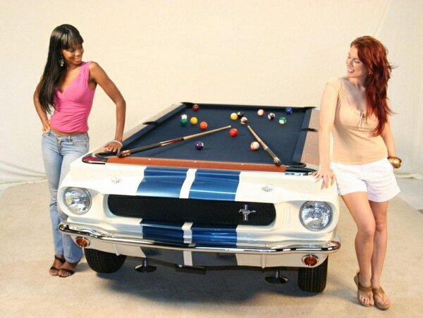 1965 GT Shelby Pool Table