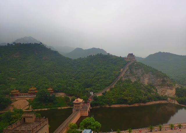 Wielki Mur Chiński w okolicach Pekinu