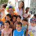 Agentes comunitários do Bairro Floresta, realizam ação em comemoração ao Dia das Crianças