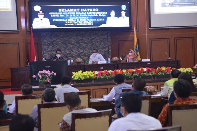 Pemkab Rencana Bangun Bendungan di Bulupoddo, Gubernur NA Bantu 25 Miliar