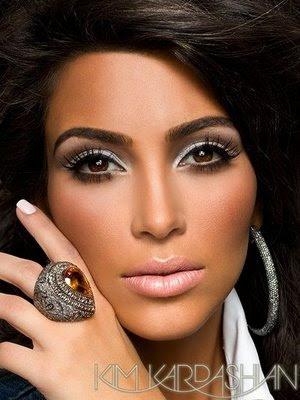Kim Kardishian makeup