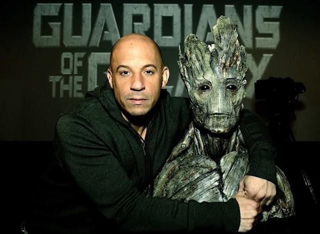 Diesel da voz a Groot en Guardianes de la Galaxia