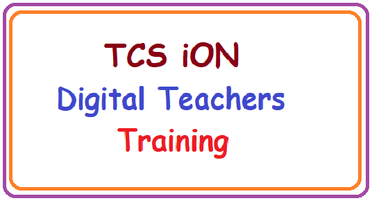 TCS ION Offers Free Digital Training to Teachers-Apply Here