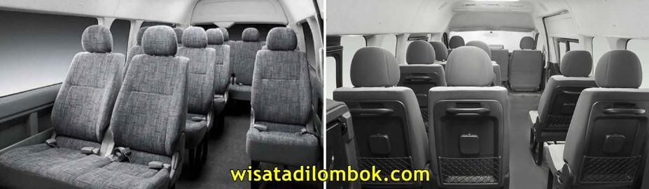 Sewa Mobil Hiace Lombok, Sewa Hiace di Lombok, Sewa Toyota Hiace Lombok