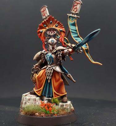 Lumineth High Warden - July 2020