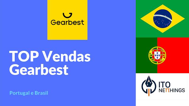 Top Vendas da Gearbest Portugal e Brasil