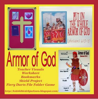 http://www.biblefunforkids.com/2013/04/the-whole-armor-of-god.html