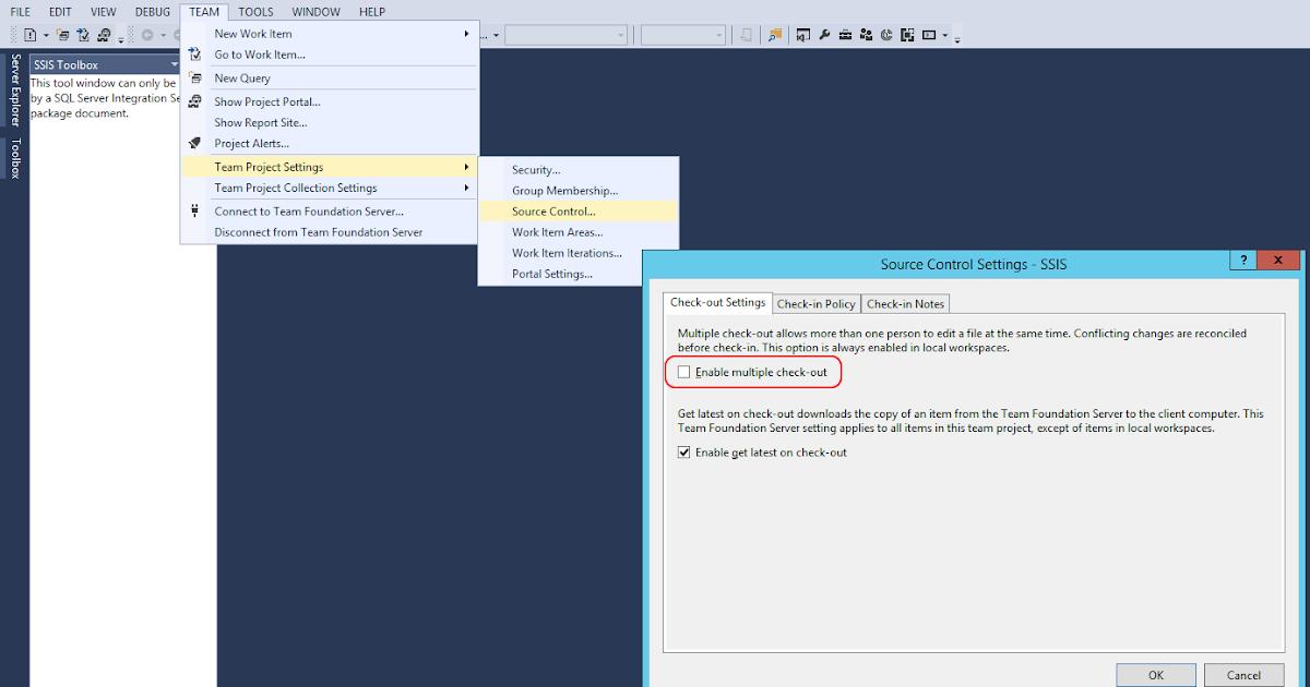 Microsoft SQL Server Integration Services: Disable multiple