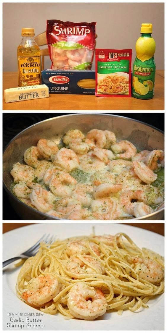 Make Garlic Butter Shrimp Scampi In 15 Minutes! #recipes #dinnerideas #foodideas #foodideasfordinnereasy #food #foodporn #healthy #yummy #instafood #foodie #delicious #dinner #breakfast #dessert #lunch #vegan #cake #eatclean #homemade #diet #healthyfood #cleaneating #foodstagram