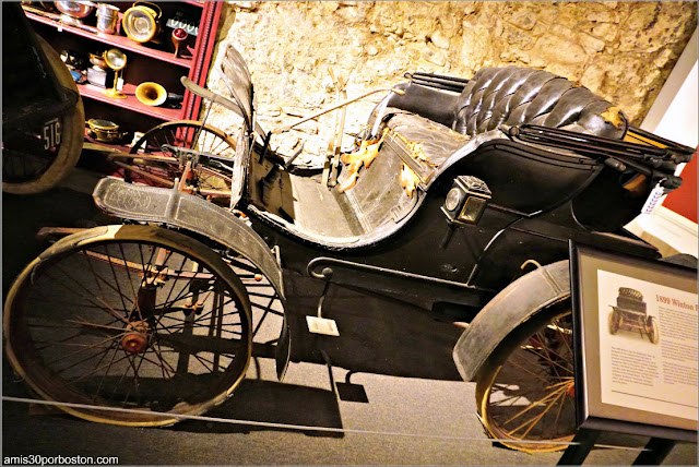 The Anderson Motorcars: 1899 Winton 4-hp Runabout