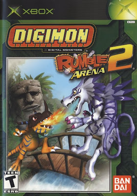 Digimon Rumble Arena Xbox Cover Art