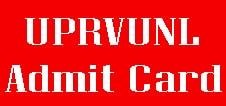 UPRVUNL Technician Admit Card