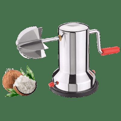 Coconut Scraper Machine   Stainless Steel Vacuum Base Coconut Scraper