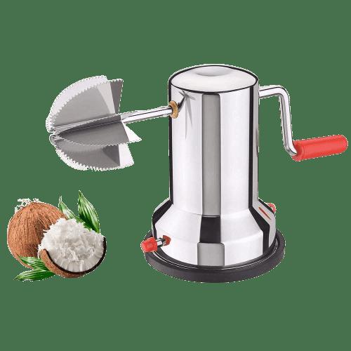 Coconut Scraper Machine | Stainless Steel Vacuum Base Coconut Scraper