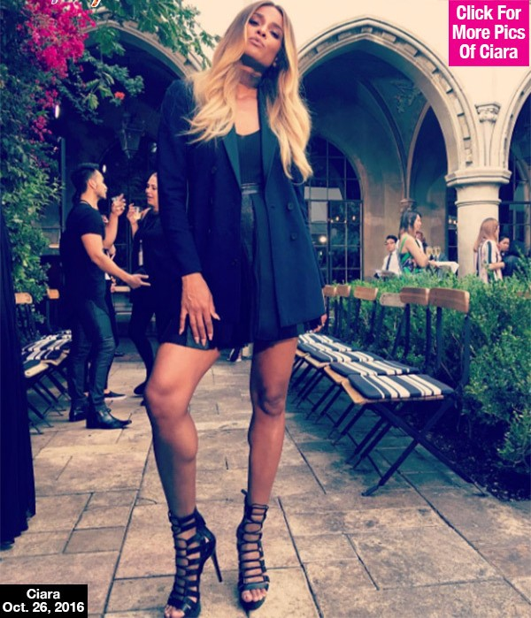 Ciara Flaunts Baby Bump For 1st Time Since Announcing Pregnancy — See Fierce Pic