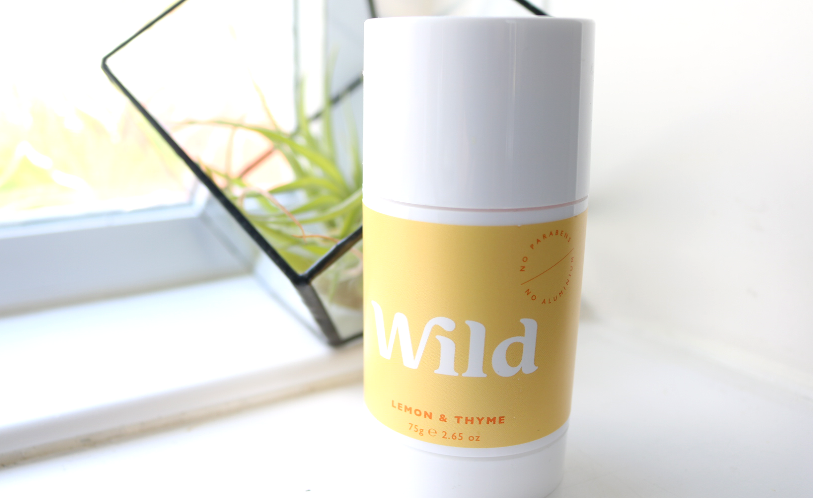 Wild Natural Deodorant in Lemon & Thyme