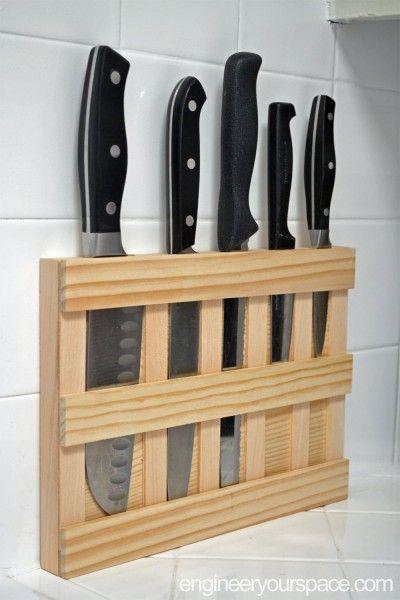 como fazer um porta facas