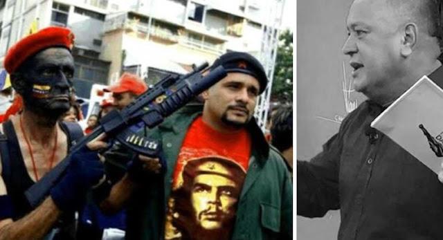 """El capo Diosdado Cabello Jefe del cartel de los soles acusa a la jerarquía eclesiástica venezolana de """"llamar a la violencia"""""""