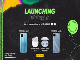 realme C25 with 48MP AI Triple Camera and 6,000mAh Battery launched in Pakistan