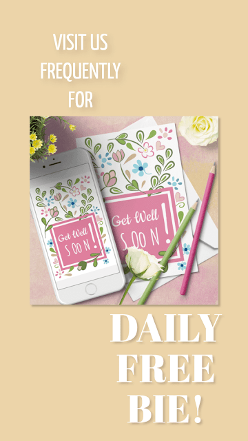 Get Well Soon FREE Download Cards