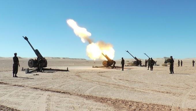 🚨 البيان العسكري رقم 06 : وحدات جيش التحرير الصحراوي تواصل قصف قواعد قوات الإحتلال وتخلف أضرار معتبرة.