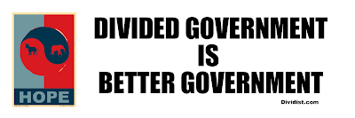 Divided Government is Limited Government is Better Government