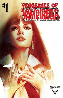Cover C of Vengeance of Vampirella by Ben Oliver
