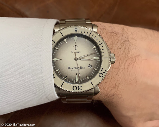 Iconic Timepieces Halocline wrist shot