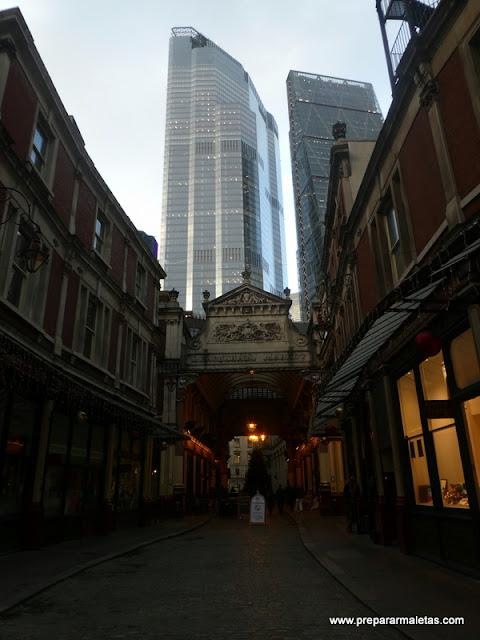 Leadenhall Market una visita clave en Londres
