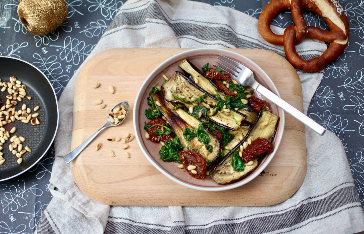 Rezept für lauwarmen Gemüsesalat