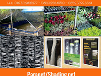 Memanfaatkan Paranet Atau Shadingnet Untuk Green House