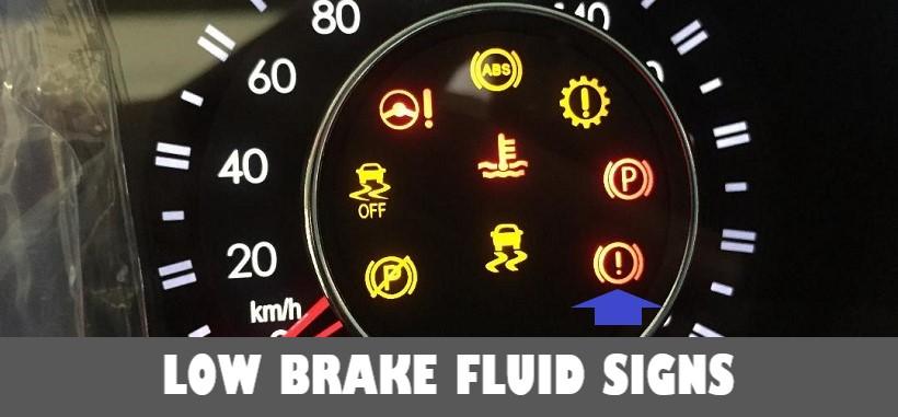 Low Brake Fluid Symptoms