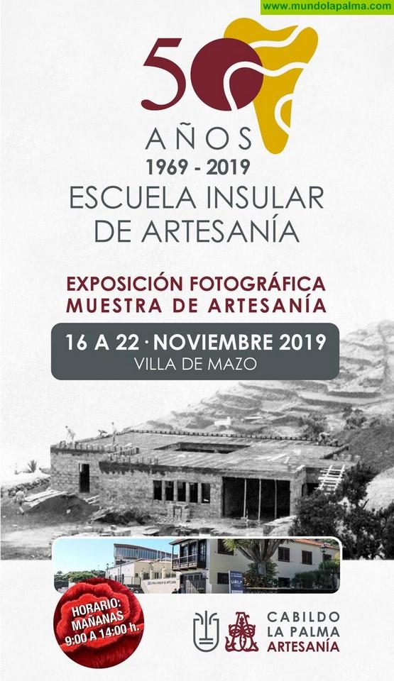 El Cabildo y el sector artesanal rendirán homenaje a la Escuela Insular de Artesanía con motivo de su cincuenta aniversario