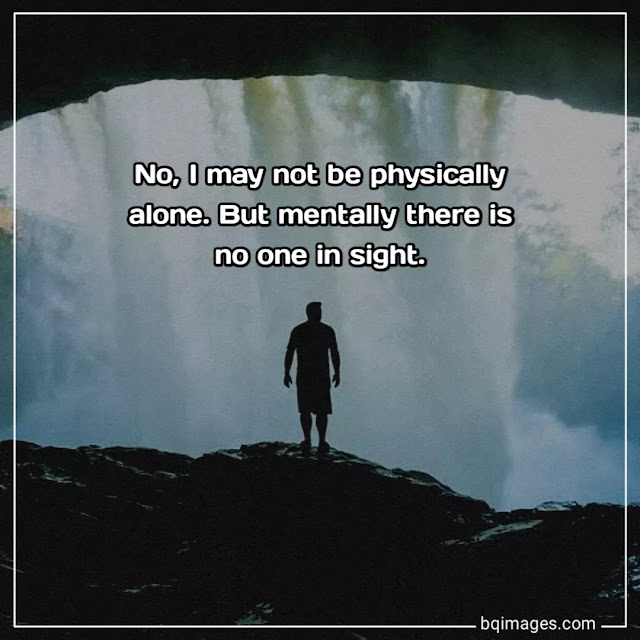 feeling alone images with quotes