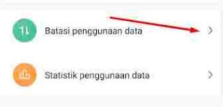 Penggunaan data