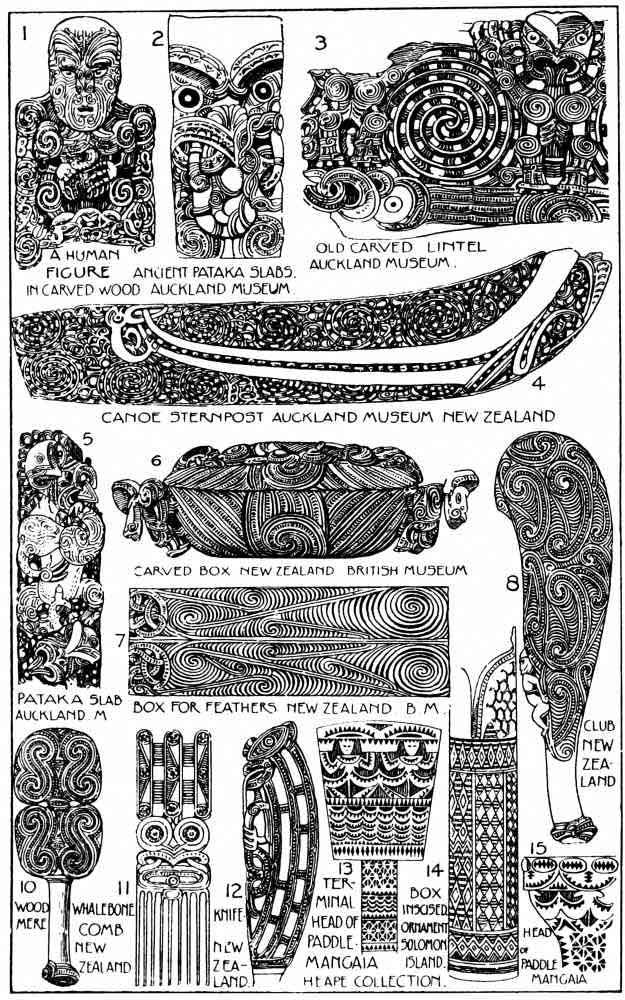 Oceania Ornaments - Ornamentation of the people of the Pacific Islands