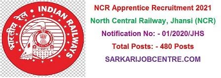 NCR Jhansi Apprentice Recruitment 2021 Apply Online